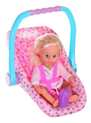 Кукла Маленькая Крошка в детском кресле Zhorya Д48252