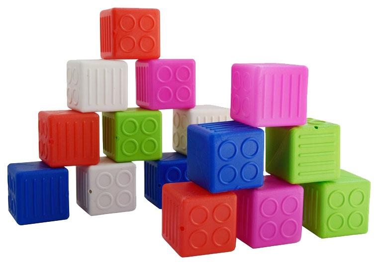 Игрушка пластмассовая Набор кубики малые МИШКА-КОСТРОМА фото