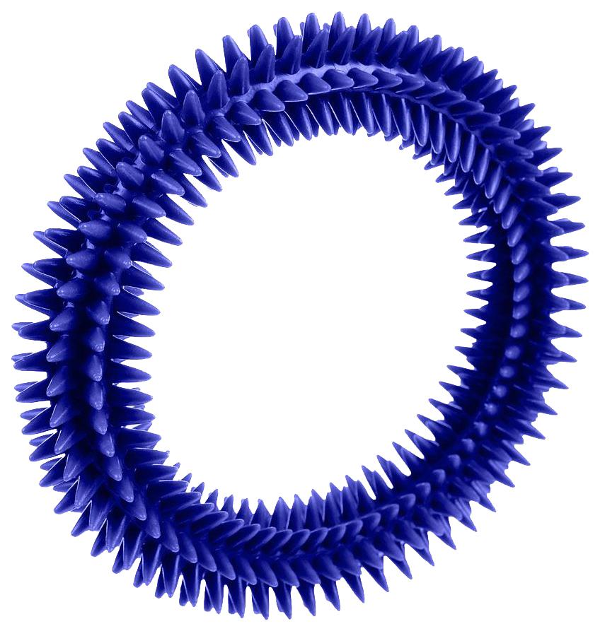 Жевательная игрушка для собак V.I.Pet Кольцо массажное с шипами, в ассортименте, 16 см