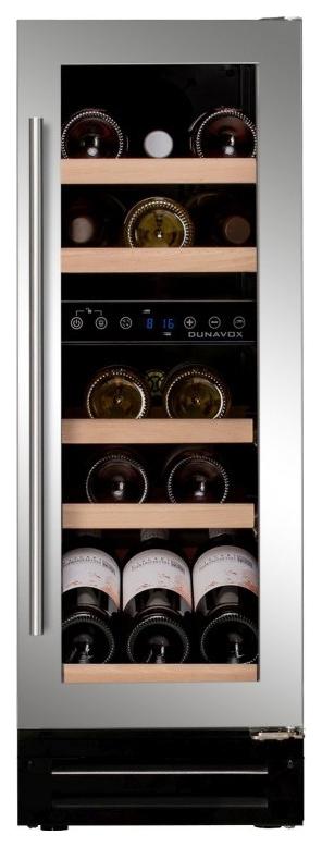 Встраиваемый винный шкаф Dunavox DX 17.58SDSK/DP
