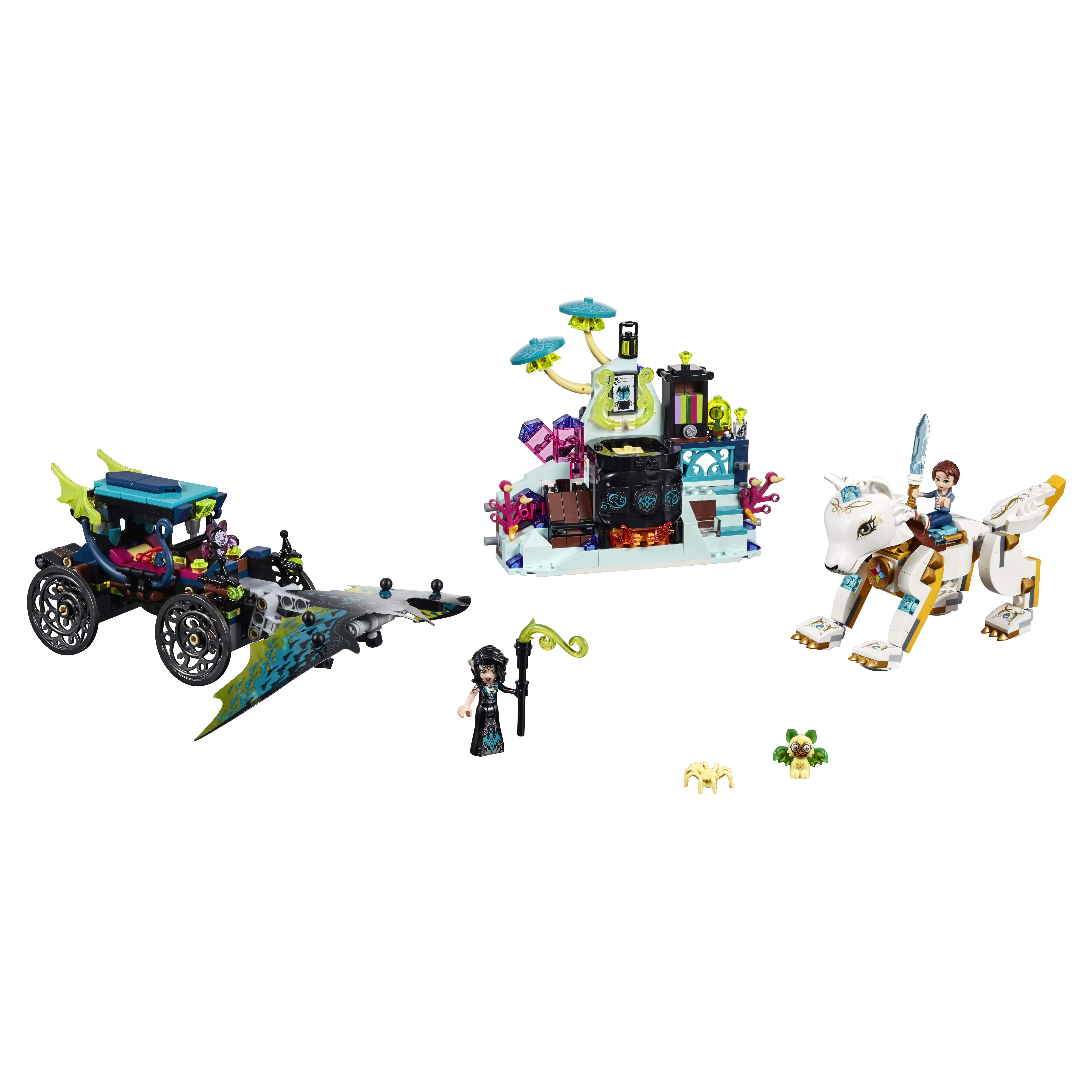 Конструктор LEGO Elves Решающий бой между Эмили и Ноктурой 41195 LEGO