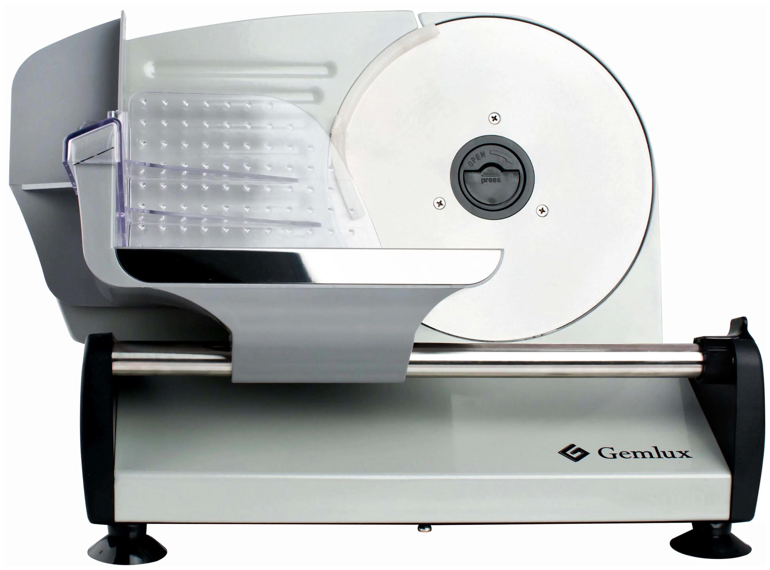 Ломтерезка Gemlux GL-MS-190 Серебристый