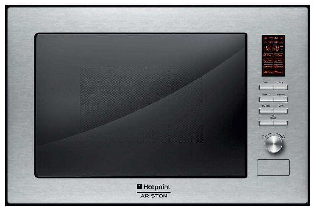 Встраиваемая микроволновая печь соло Hotpoint Ariston MWHA