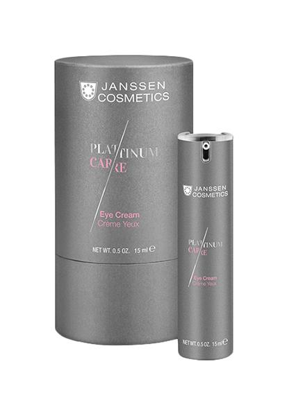 Купить Крем для глаз Janssen Platinum care Eye Cream реструктурирующий 15 мл