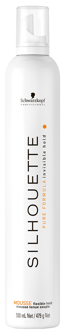 Купить Мусс для волос Schwarzkopf Professional Flexible Hold Silhouette Pure Mousse 500 мл