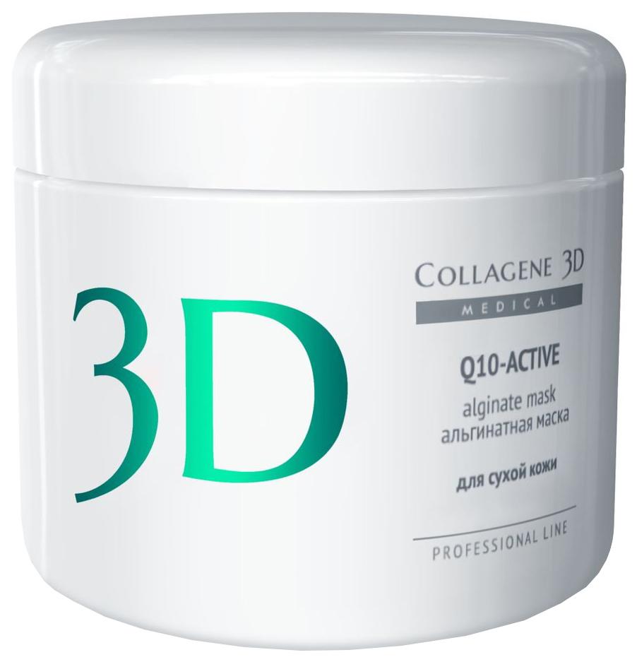 Купить Маска для лица Medical Collagene 3D Q10 Active Alginate Mask 200 г