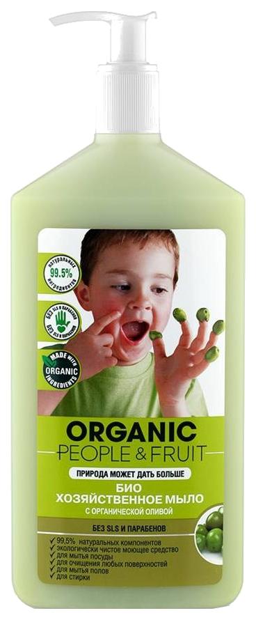 Хозяйственное мыло Organic People fruit с органической
