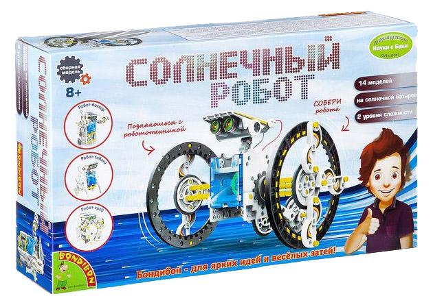 Купить Конструктор пластиковый Bondibon Солнечный робот 14 в 1 2289ВВ/21-615, Конструкторы пластмассовые