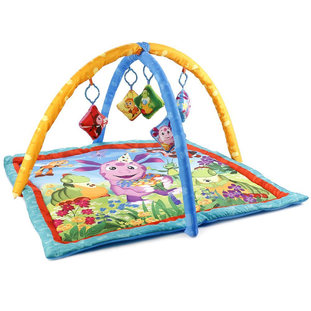 Купить Коврик детский Умка лунтик, с мягкими игрушками на подвеске, Развивающие коврики и центры