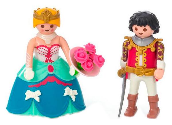 Принц и принцесса, Игровой набор Playmobil Принцесса Принц и принцесса 9215, Игровые наборы  - купить со скидкой