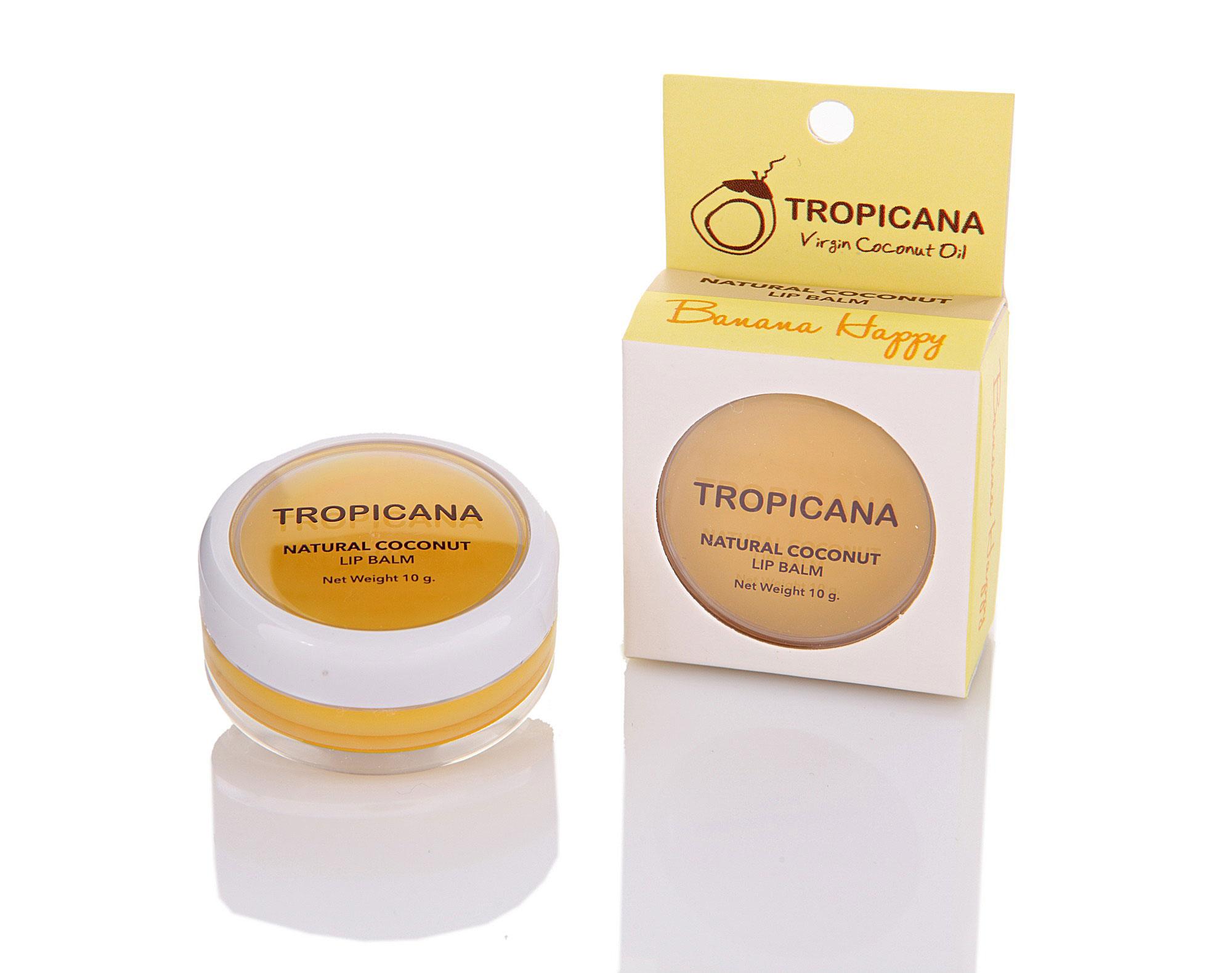 Бальзам для губ Tropicana 'Банановое счастье'