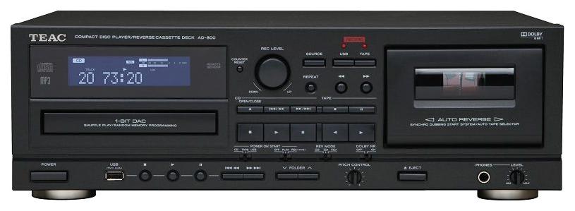 CD-проигрыватель Teac AD-850 Black фото