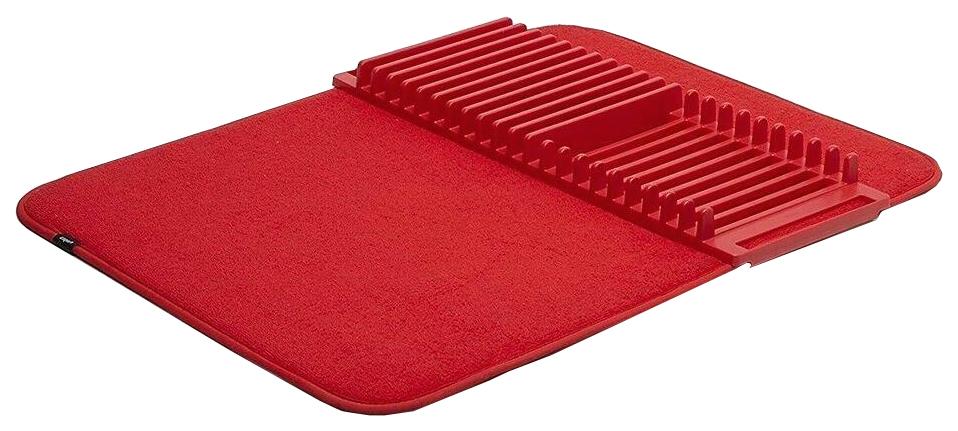 Коврик для сушки посуды Udry красный