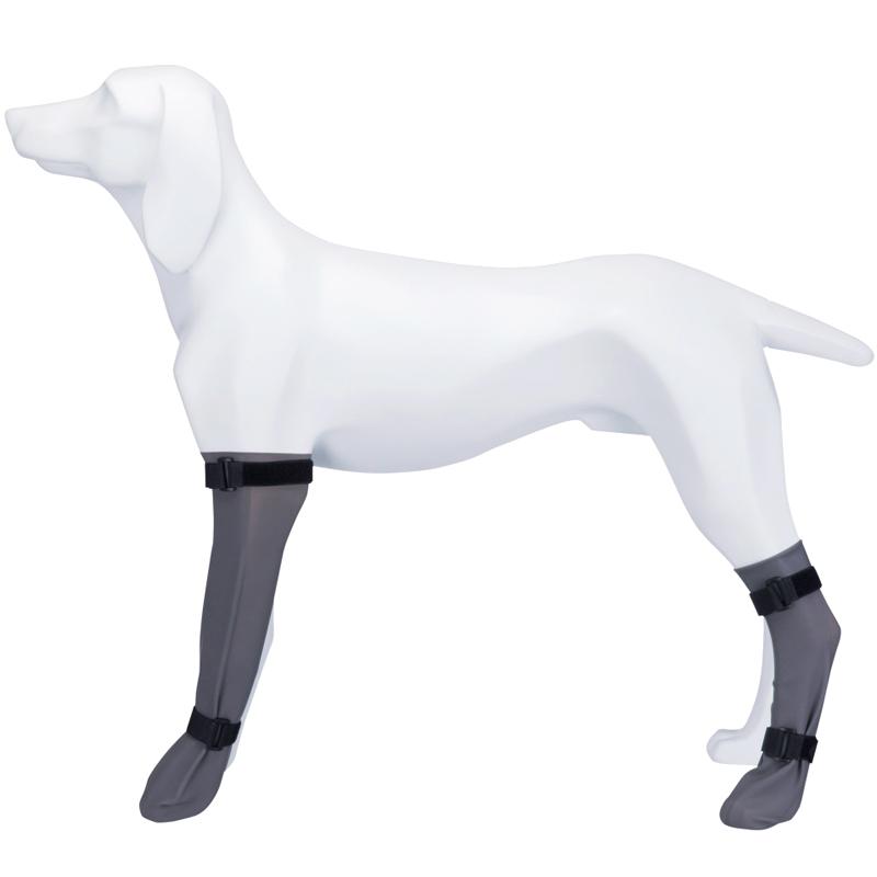 Защитный носок для собак Trixie, серый,