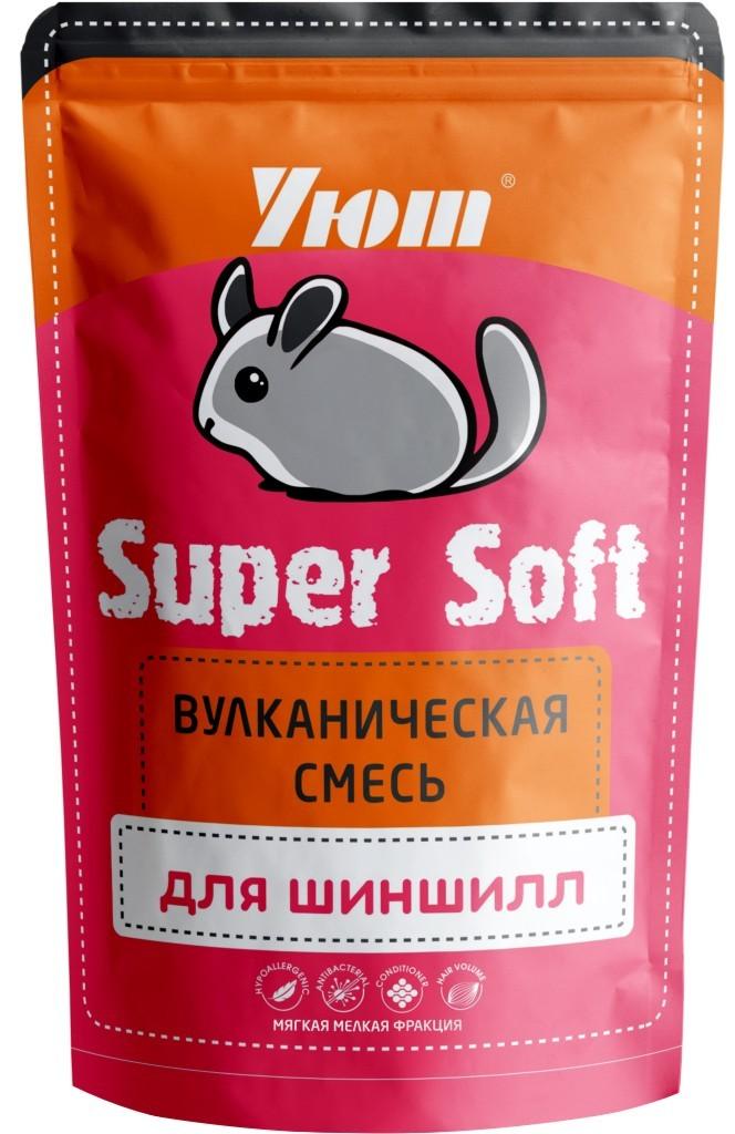 Вулканическая смесь для шиншилл Уют Super Soft,