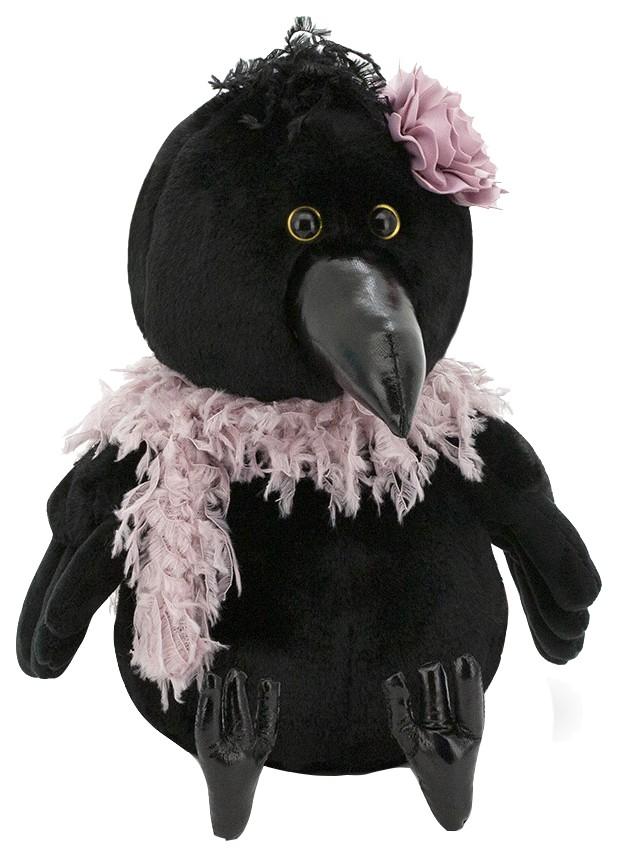 Купить Мягкая игрушка Ворона Клара: В гламуре , 20 см OS808/20 Orange, Orange Toys, Мягкие игрушки птицы