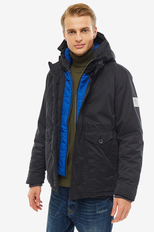 Куртка мужская Pepe Jeans PM402120.985 черная S, PM402120.985