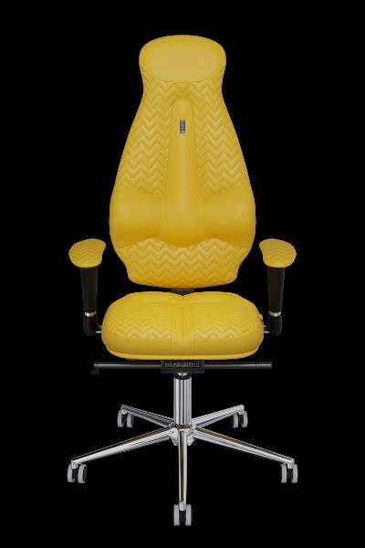 Офисное кресло KULIK SYSTEM GALAXY 1101 Желтый