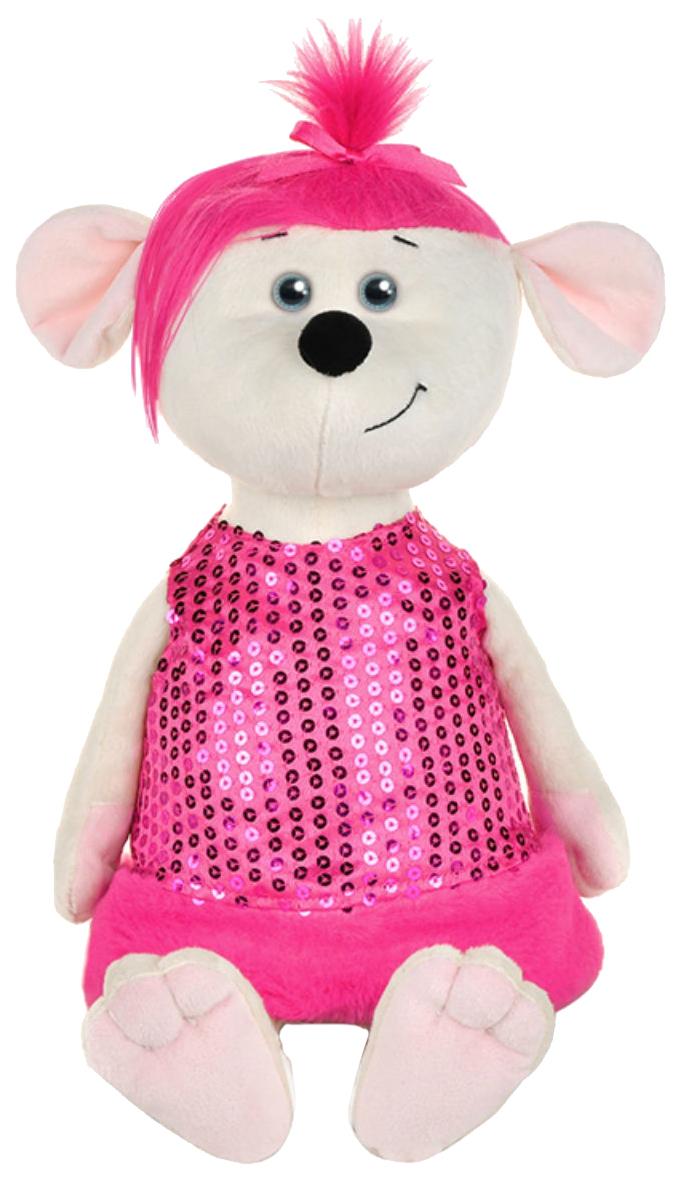 Купить Мягкая игрушка MaxiToys Мышка Аллочка в платье, Мягкие игрушки животные