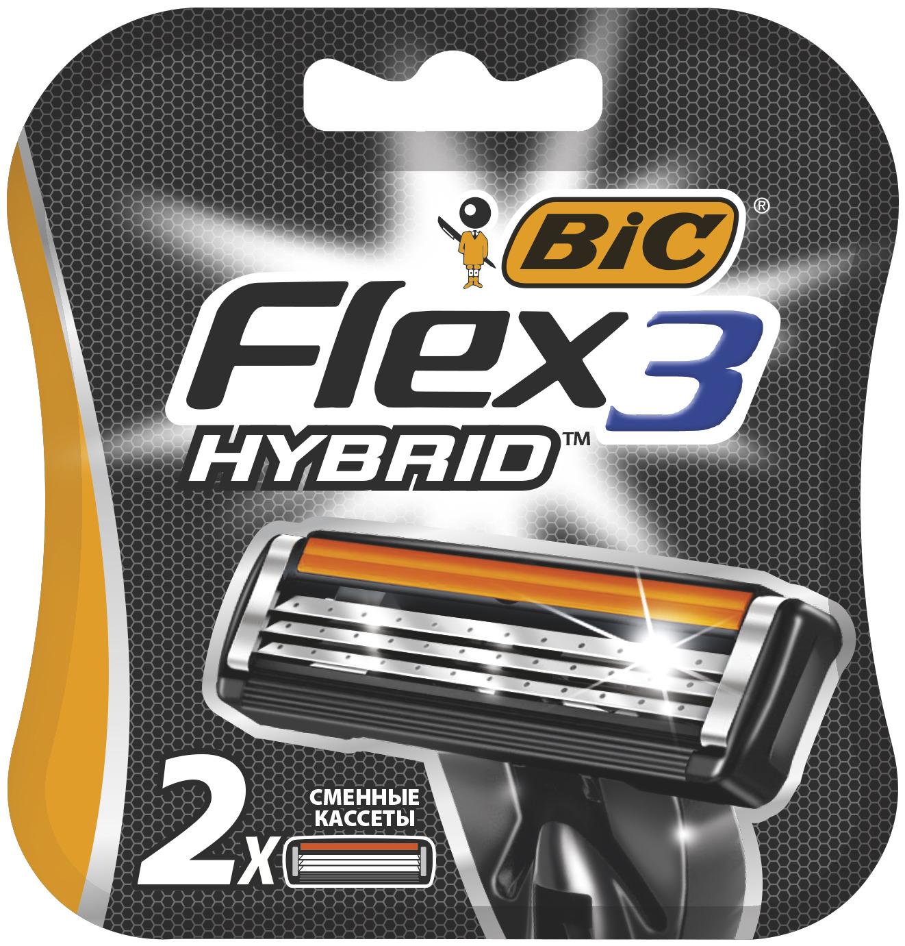 Сменные кассеты BIC Flex 3 Hybrid