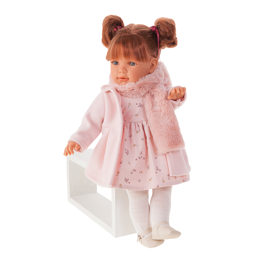 Кукла Antonio Juan Марианна в розовом 55 см