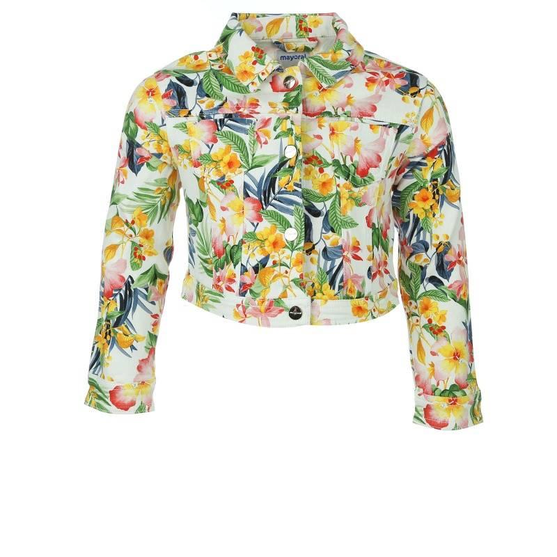 Купить 3.409/27, Куртка MAYORAL, цв. синий, 122 р-р, Куртки для девочек