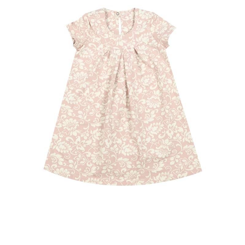 Купить Платье Веселый малыш, цв. розовый, 92 р-р, Детские платья и сарафаны