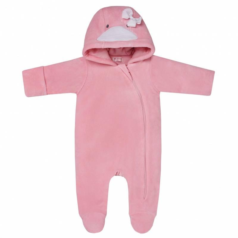 Купить DK-068, Комбинезон Diva Kids, цв. розовый, 80 р-р, Трикотажные комбинезоны для новорожденных