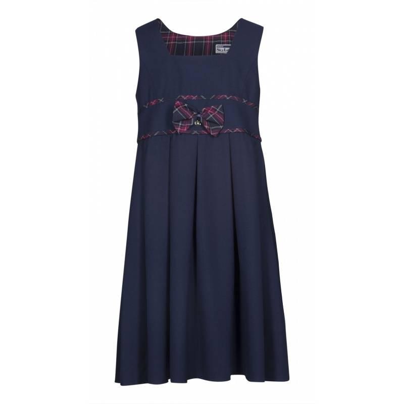 Купить Сарафан SkyLake, цв. темно-синий, 28 р-р, Детские платья и сарафаны