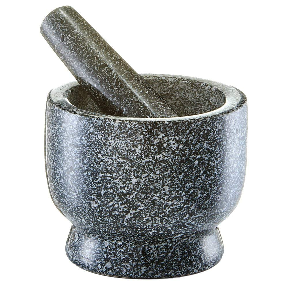 Ступка с пестиком Zeller, 12x10 см., гранит