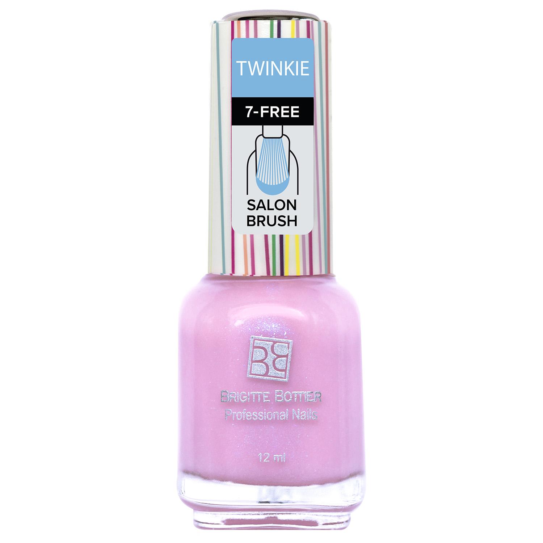 Лак для ногтей Brigitte Bottier Twinkie тон 05 светло-розовый перламутр, 12мл