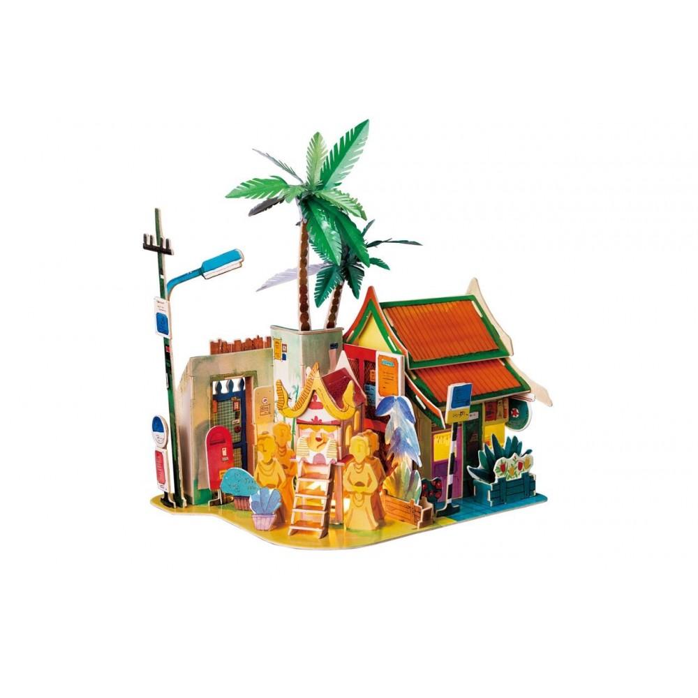 3D деревянный пазл Robotime Серия Дома