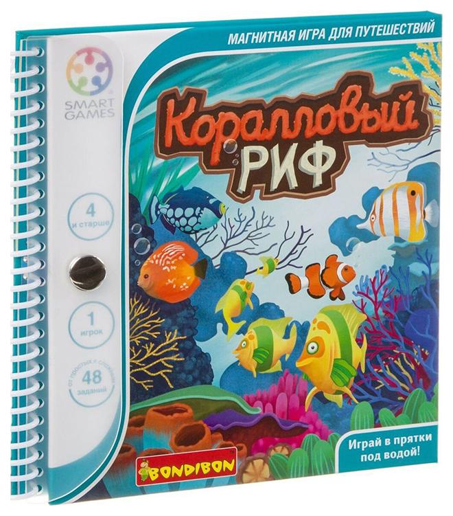 Дидактическая игра Bondibon Для Путешествий Коралловый Риф