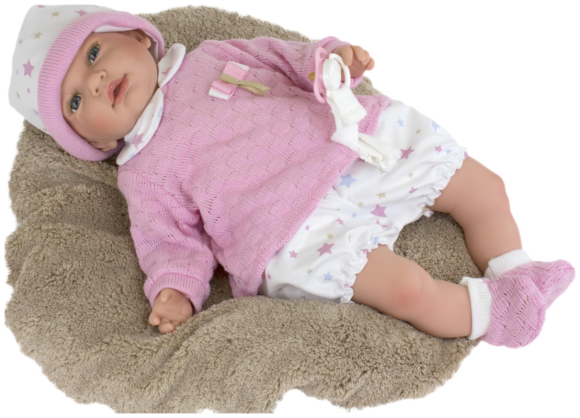 Пупс Nines d'Onil Малышка, с меховой подушкой