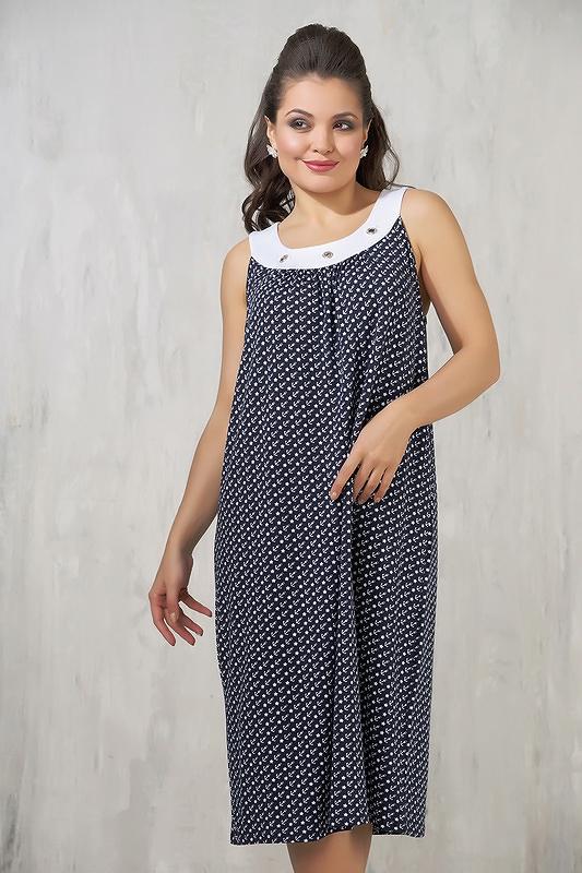 Платье женское VAY 3302 синее 58 RU фото