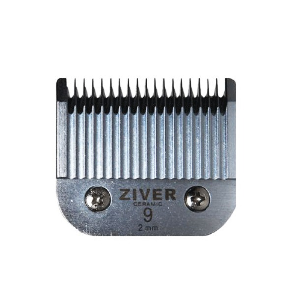 Стригущий сменный нож ZIVER для машинок для стрижки животных сталь слот А5 9 2мм.