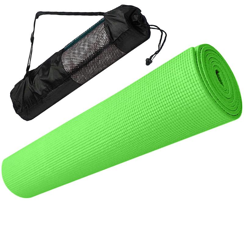 Коврик для йоги Hawk E29263 зеленый