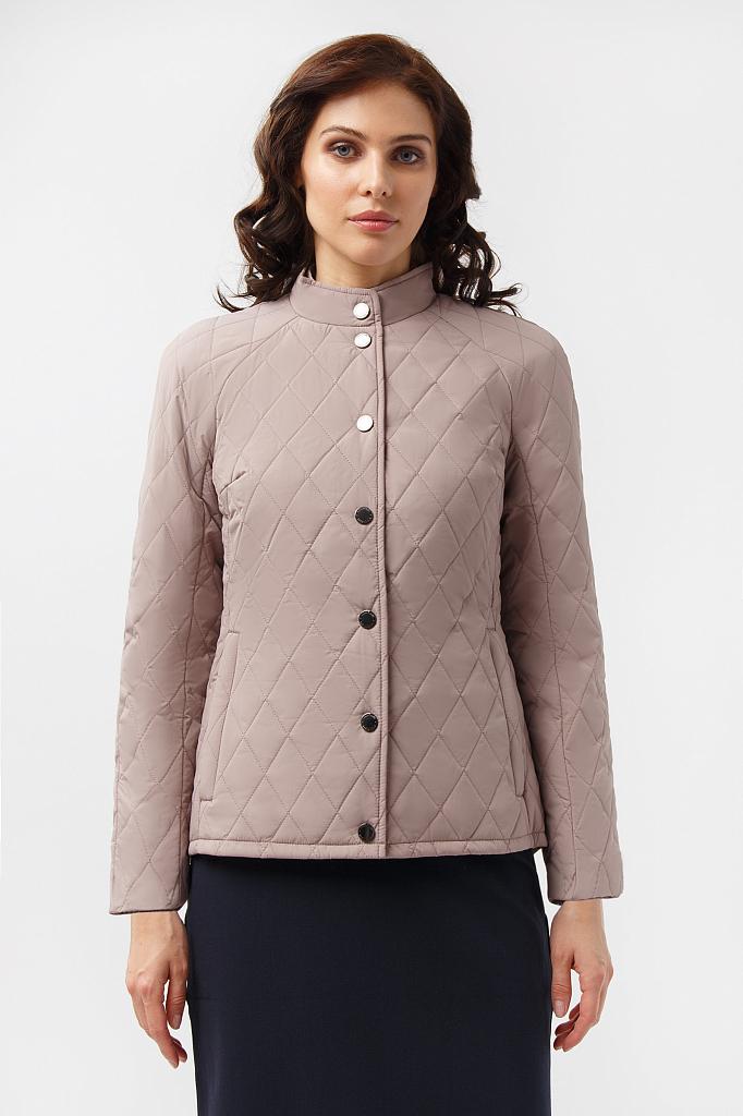 Куртка женская Finn Flare A19-11012 коричневая M фото