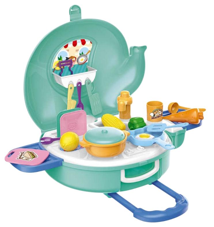 Купить Игровой набор Наша игрушка Юный работник 27 предметов, Детская кухня