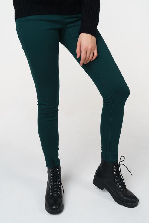 Джинсы женские b.young 20804141 зеленые 29 EU
