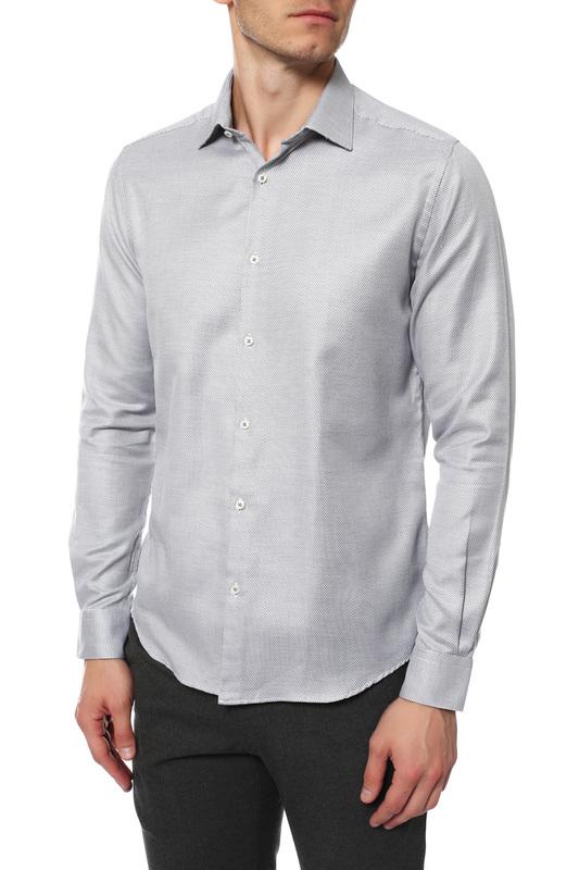 Рубашка мужская MONDIGO 420851 серая S