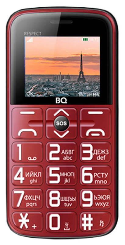 Мобильный телефон BQ 1851 Respect Red фото
