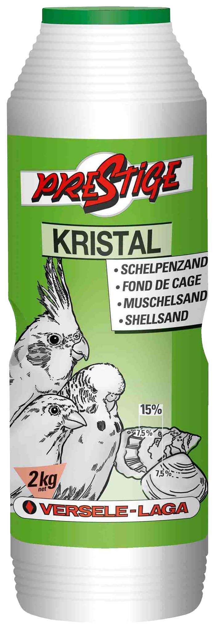 Наполнитель в клетку для птиц Versele Laga