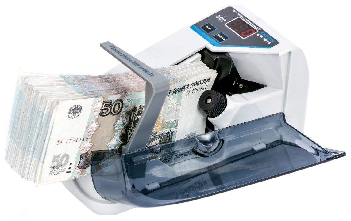 Счетчик банкнот Dors CT1015 Белый (SYS 040022)
