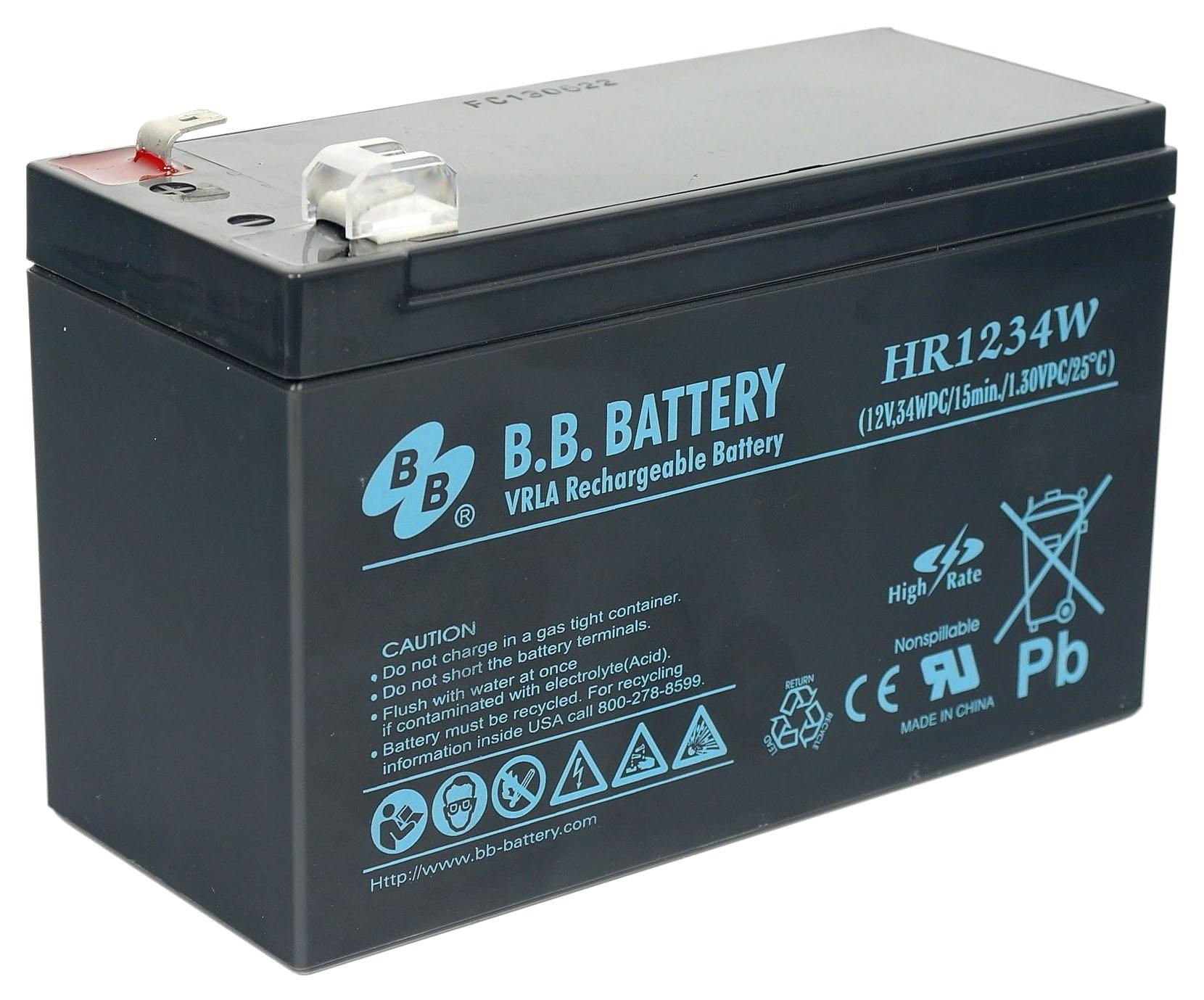 Аккумулятор для ИБП BB HRC 1234W