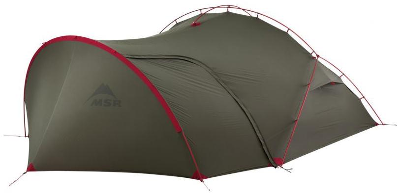 Палатка MSR Hubba Tour трехместная серая