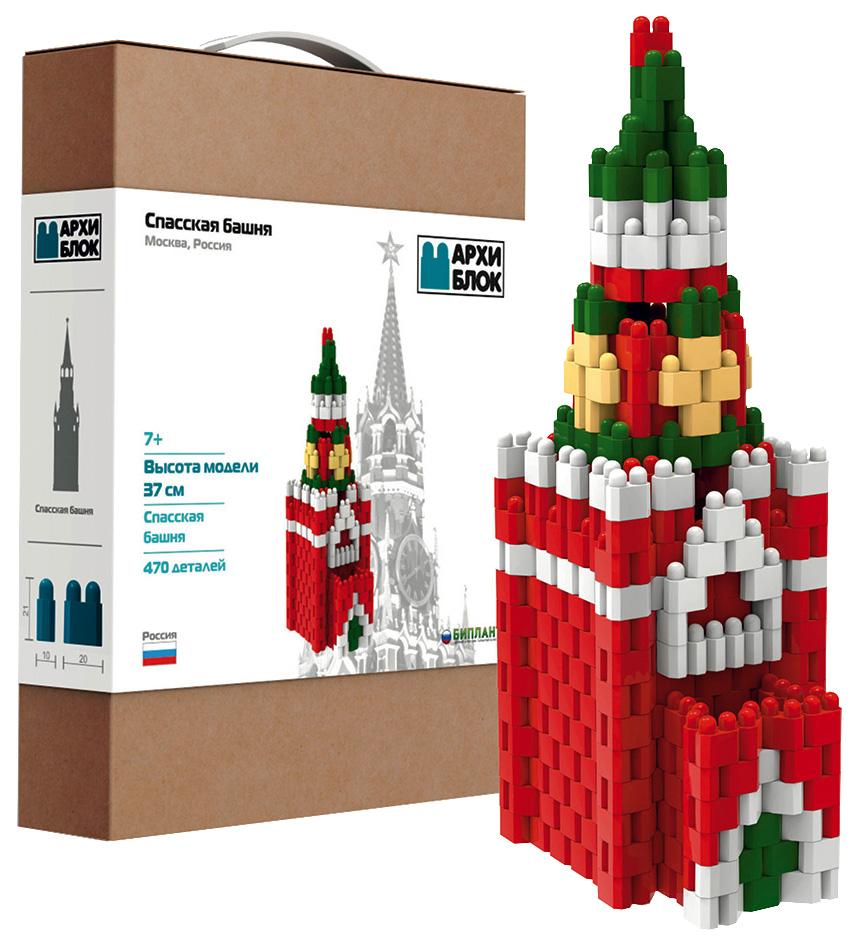 Купить Конструктор пластиковый Биплант АрхиБлок Спасская башня 11153,