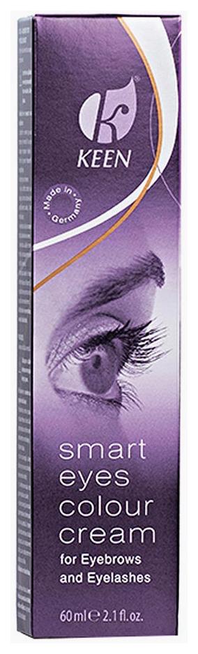 Краска для бровей Keen Smart Eyes Colour Cream Коричневая 60 мл