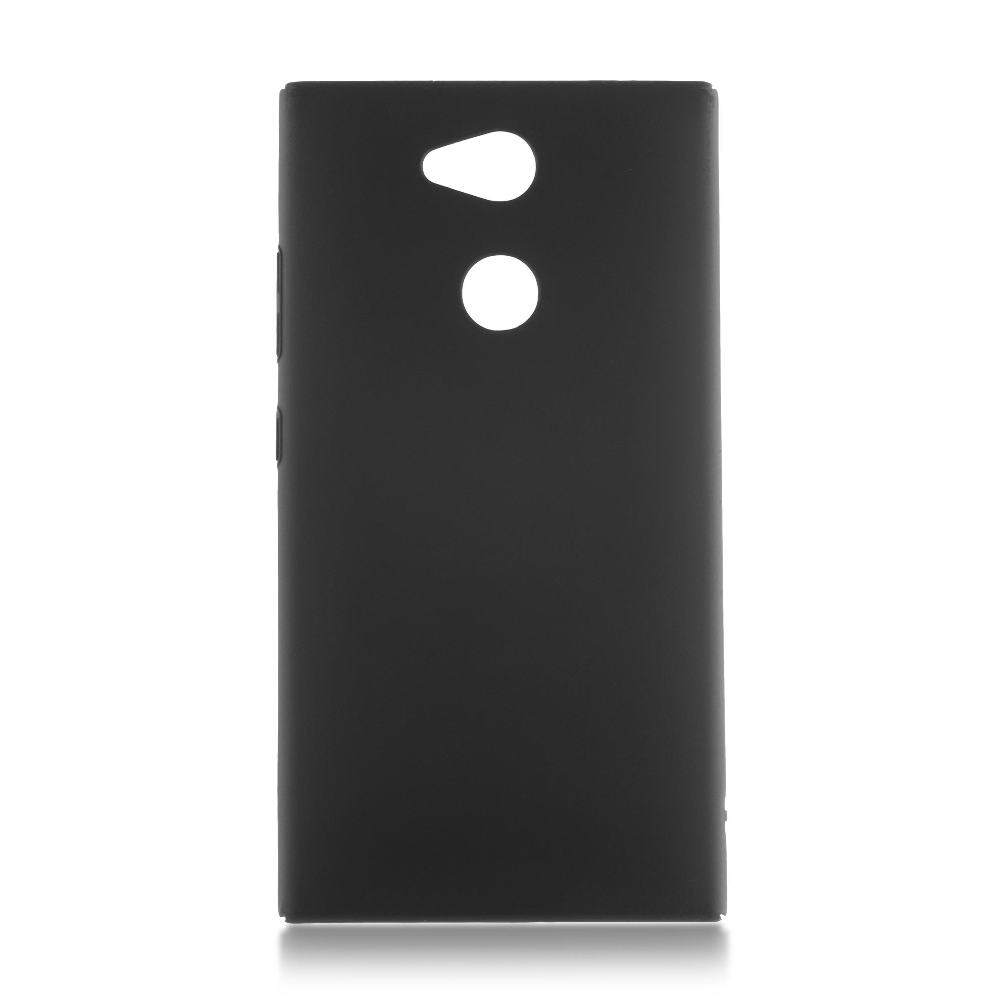 Накладка Brosco Soft-touch для Sony Xperia L2, черная
