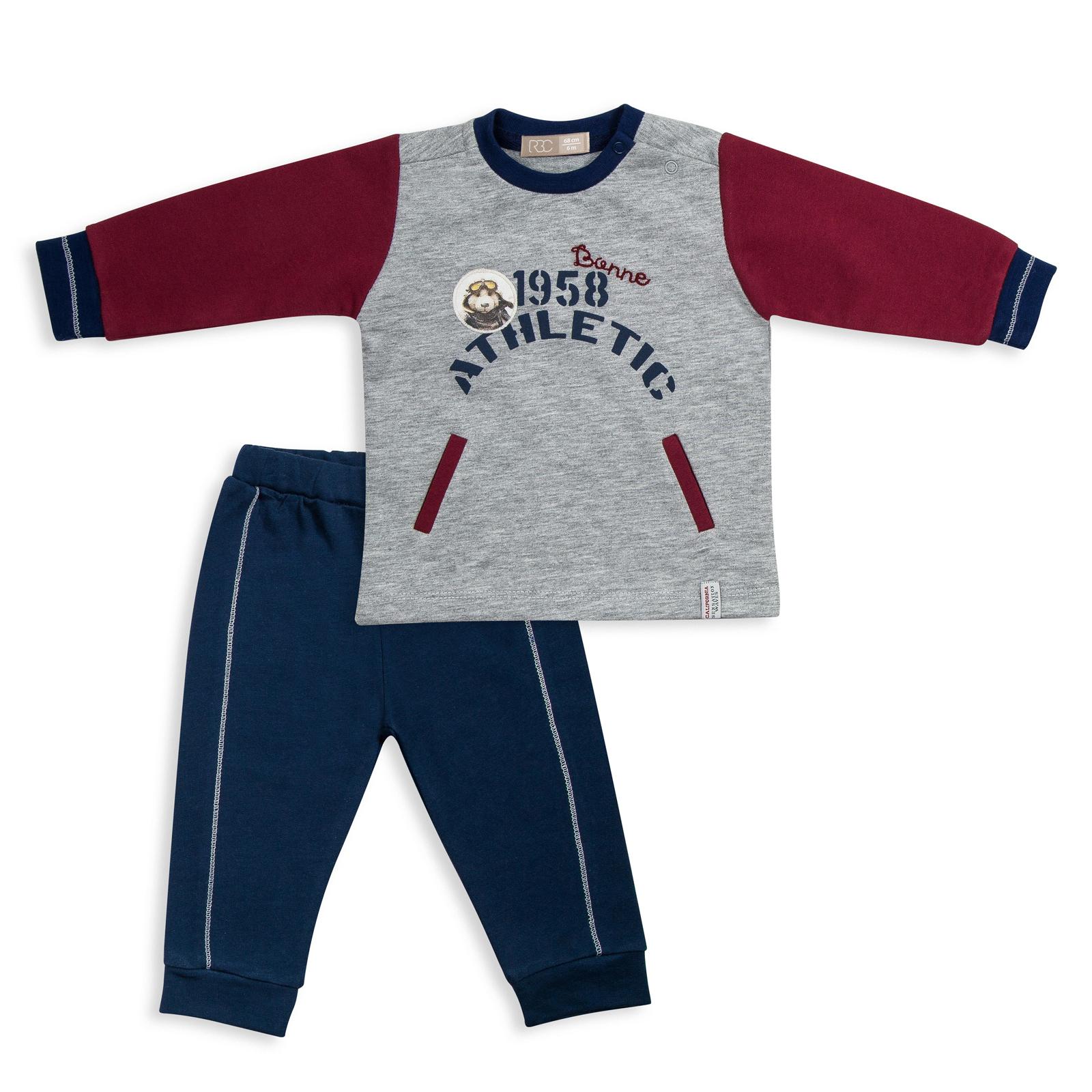 Купить МЛ373408, Комплект одежды RBC, цв. синий р.68,